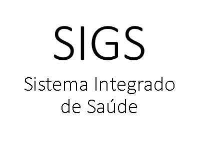 SIGS - Sistema Integrado de Gestão em Saúde Versão: 1.10.0.0